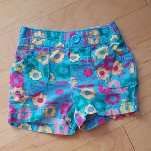 5/$25 Floral Pull-on Shorts